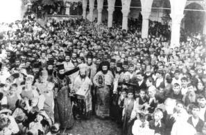 Πανηγύρι της Παναγίας το 1907.