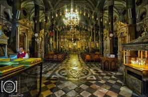 Το εσωτερικό του Ιερού Ναού.