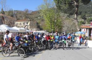 Αγώνες Ορεινής ποδηλασίας ENDURO Αγιάσου (9-4-2017)