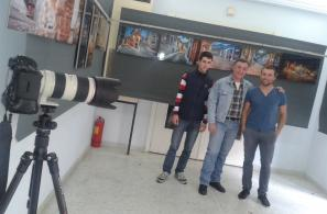 Έκθεση φωτογραφίας του Κώστα Σταματέλη στο Φουαγιέ του Αναγνωστηρίου.