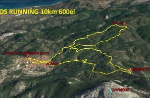 AGIASOS RUNNING 10 χλμ με 600 μέτρα υψομετρικά