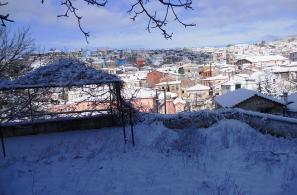Άποψη του χωριού από τον Κήπο Παναγίας.