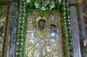 Η Εικόνα της Παναγίας (αντίγραφο).